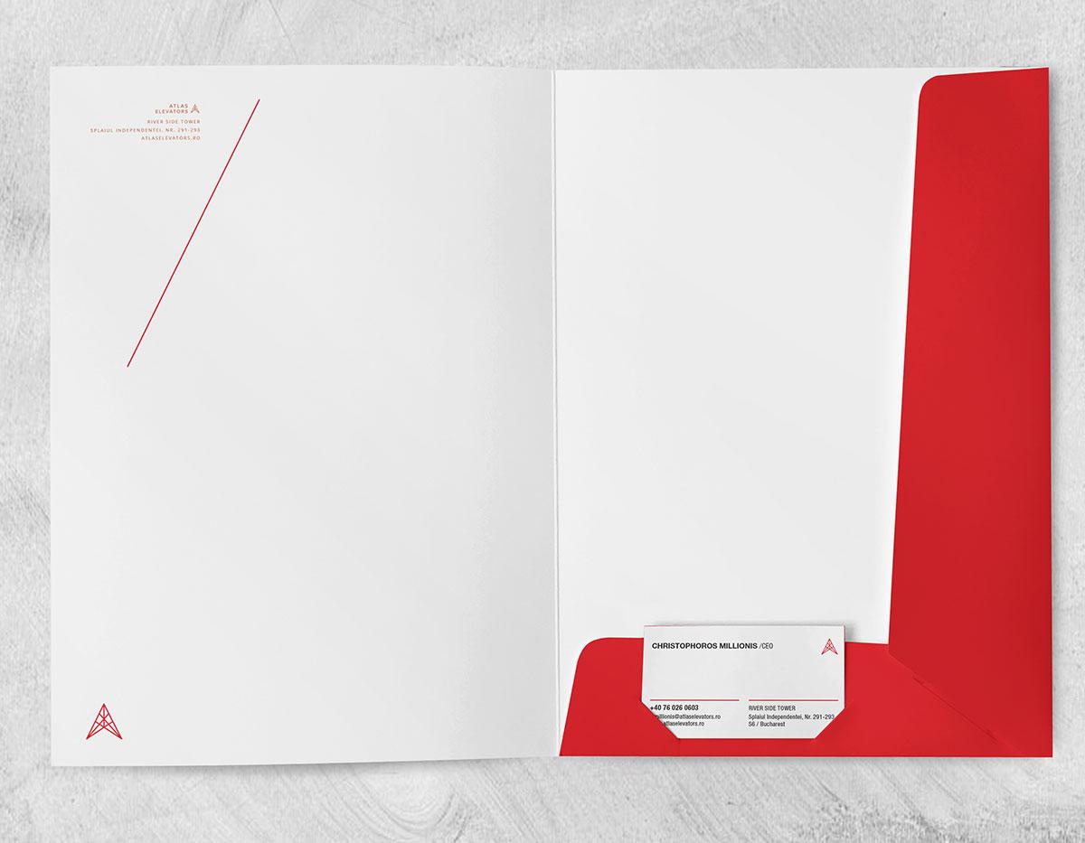 Design dosar personalizat