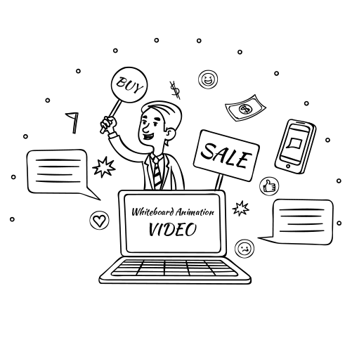 whiteboard animation promovare video