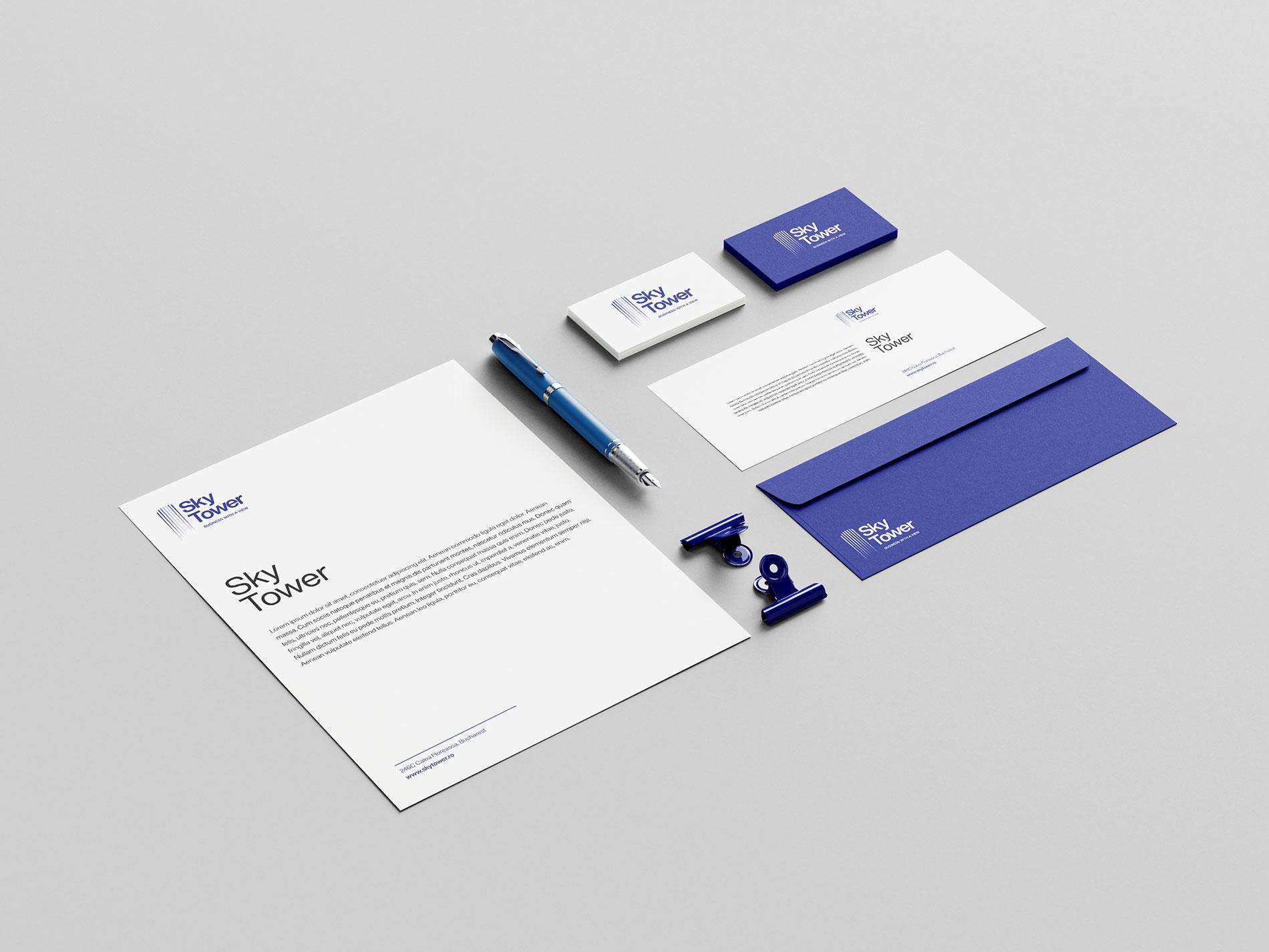 SkyTower Corporate Identity